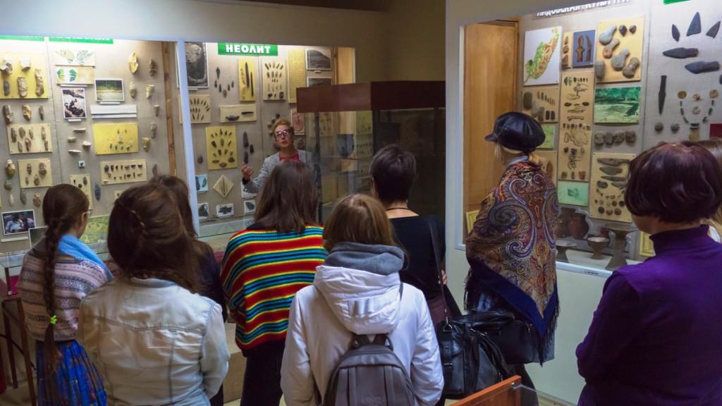 Лекция в музее для студентов и преподавателей ВГУЭС.